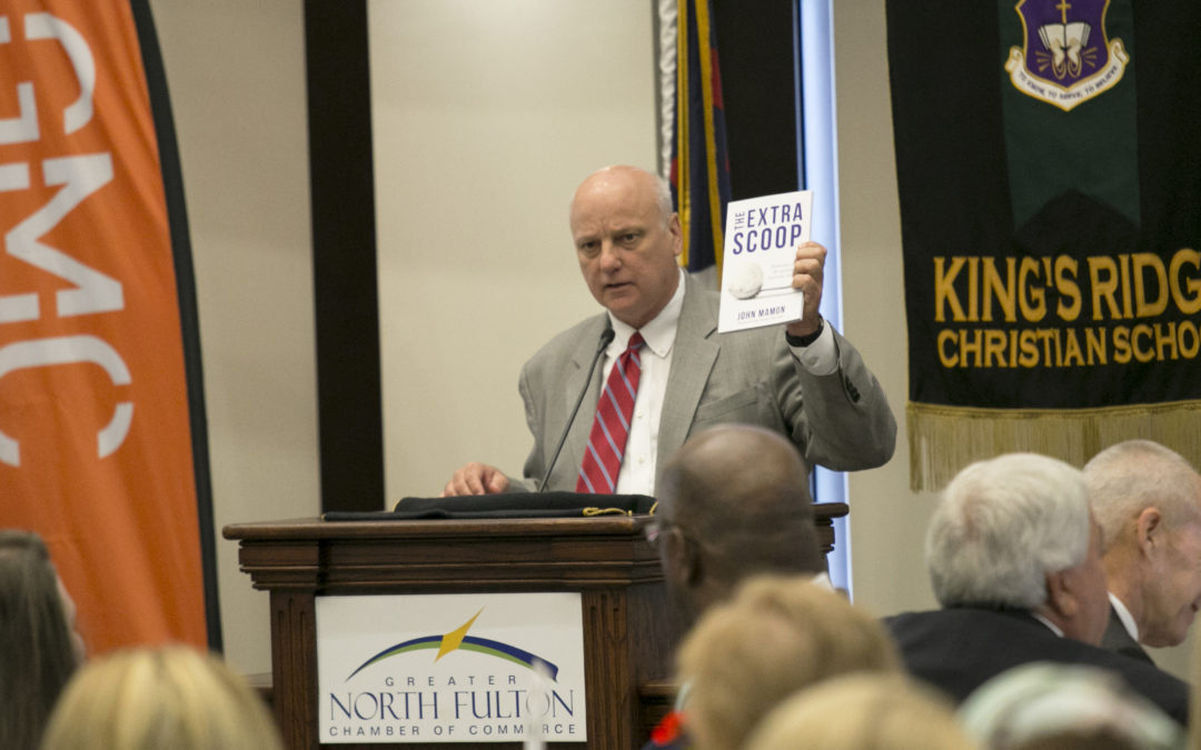 Senator Brandon Beach Touts Book